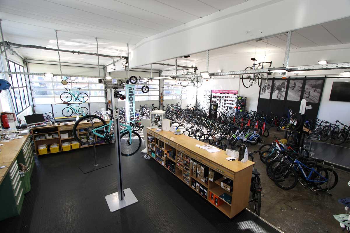 Rad Werkstatt in Garmisch